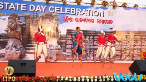 Odisha State Day Celebration - Performance B - Part 2 at IITF 2017