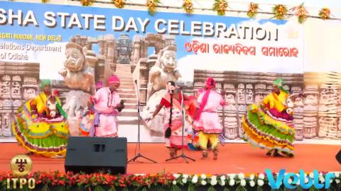 Odisha State Day Celebration - Performance D - Part 1 at IITF 2017