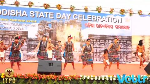 Odisha State Day Celebration - Performance E at IITF 2017