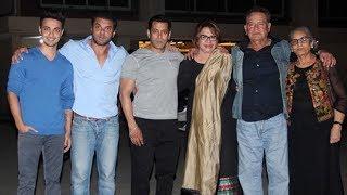 Salman Khan's Father Salim Khan Birthday Party At Galaxy Apartment | 2017 Party