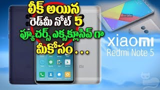 Xiaomi Redmi MI Note 5 Specifications Design Camera Battery life Review 2017