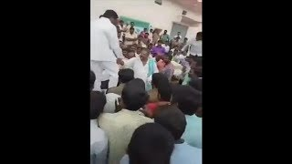 Actor Narayana Murty at Warangal Market 2017