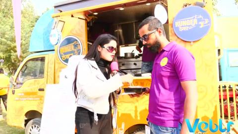 Hunger Theka Food Truck - Delhi Food Truck Festival 2017