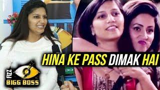 Sapna Chaudhary TALKS On Friendship With Hina Khan   Bigg Boss 11 Eviction Day   26th Nov Episode
