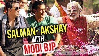 Salman Khan And Akshay Kumar To Campaign For Narendra Modi BJP Gujarat Election