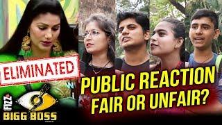 Sapna Chaudhary ELIMINATED | PUBLIC REACTION | Bigg Boss 11