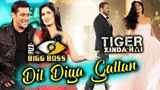 Salman-Katrina Dil Diya Gallan Song Launch On Bigg Boss 11 Weekend Ka Vaar | Tiger Zinda Hai