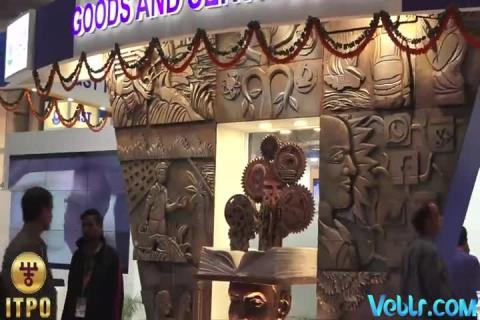 Goods and Services Tax (GST) Pavilion at 37th India International Trade Fair 2017