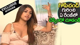 Anu Emmanuel About Gopichand | Anu Emmanuel Interview 2017 | Oxygen Movie Team Exclusive Interview