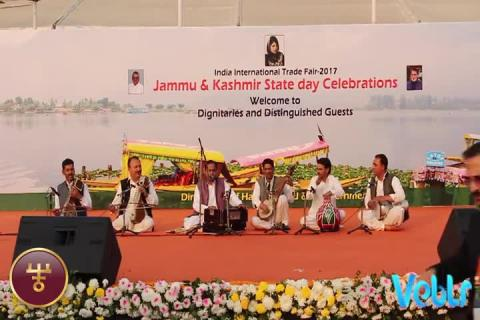 Jammu & Kashmir State Day Celebrations - Performance 2 - Part 7 at IITF 2017