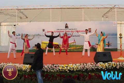 Jammu & Kashmir State Day Celebrations - Performance 3 - Part 1 at IITF 2017