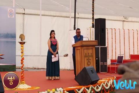 Hon'ble Minister Speech at IITF 2017 on Jammu & Kashmir State Day celebrations.