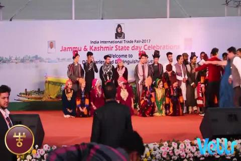 Jammu & Kashmir State Day Celebrations - Photo Session - IITF 2017