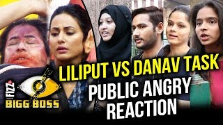 Lilliputs And Daanavs Task | Bigg Boss 11 | Public Angry On Hina Khan