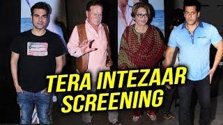 Tera Intezaar Special Screening | Salman Khan's Father Salim Khan, Helen, Arbaaz Khan