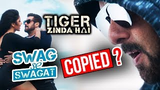 Is Salman Khan's Swag Se Swagat COPIED From DJ KATCH - The Horns | Tiger ZInda Hai