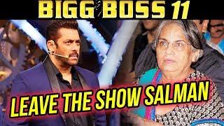 Salman Khan's Mother UPSET On Bigg Boss, Forces Salman To QUIT SHOW