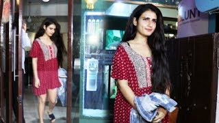 Fatima Sana Shaikh Spotted B-Launt Spa In Khar