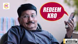 Mishra Ji's Funny Interaction with Call Centre Guy | Comedy | mChamp Joining Referral Code ZG498061