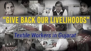 Surat textile workers on GST