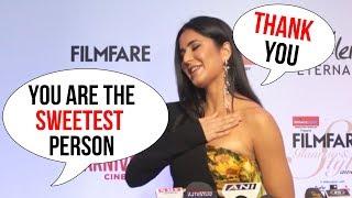 Reporter CALLS Katrina Kaif Sweetest Person - Watch Katrina's REACTION