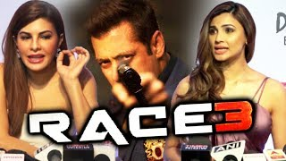 Jacqueline Fernandez And Daisy Shah REACTION On Race 3 | Salman Khan
