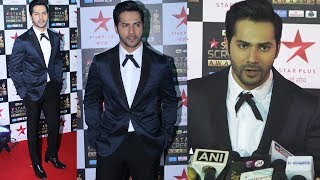 Varun Dhawan At Star Screen Awards 2018 Red Carpet | Star Plus Awards Show 2018