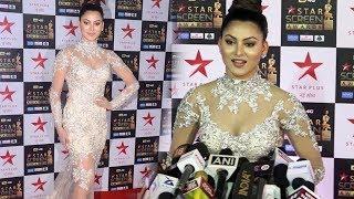Urvashi Rautela Star Screen Awards 2018 Red Carpet | Star Plus Awards Show 2018