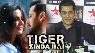 Salman Khan Reaction On Romancing Katrina In Dil Diyan Gallan | Tiger Zinda Hai