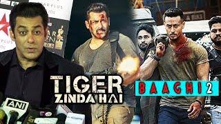 Salman Khan REACTION On Tiger Zinda Hai, Tiger Shroff Talks On Baaghi 2