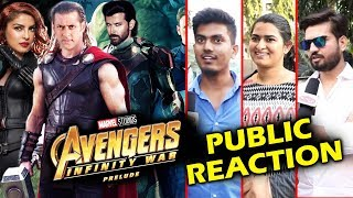 Desi Avengers In Bollywood | Salman Khan As THOR, Hrithik As IRON MAN | PUBLIC Reaction