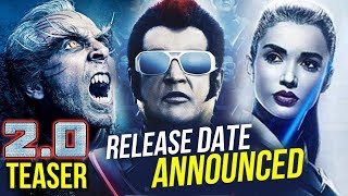 Akshay Kumar - Rajnikanth's Robot 2 Teaser Release Date Announced