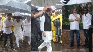Celebs Attend Shashi Kapoor's Final Rites Ceremony | Amitabh Bachchan, Rishi Kapoor, Ranbir Kapoor