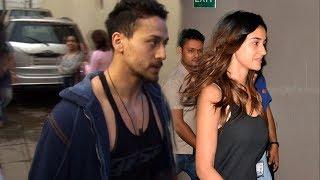 Tiger Shroff And Disha Patani SPOTTED At Gym Together
