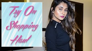 TRY ON HAUL: ZARA, LIFESTYLE, SHOPPERS STOP, GAP, ETC
