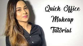 WORK/ OFFICE MAKEUP TUTORIAL| AFFORDABLE MAKEUP|