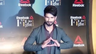 Shahid Kapoor At Reebok India Fit To Fight Awards 2017