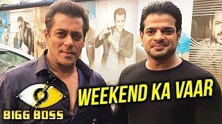 Karan Patel POSES With Salman Khan On Bigg Boss 11 Set | Weekend Ka Vaar With Salman Khan