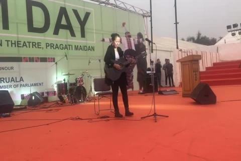 Mizoram Day Celebrations - Performance 4 Part 2 at iitf 2017