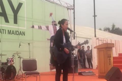Mizoram Day Celebrations - Performance 4 Part 3 at iitf 2017