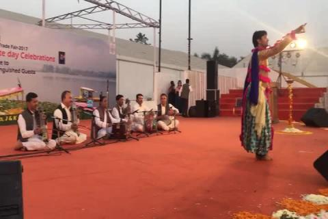Jammu & Kashmir State Day Celebrations - Performance 6 at IITF 2017