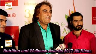 Nutrition and Wellness Awards 2017 Actor Ali Khan Chief Guest