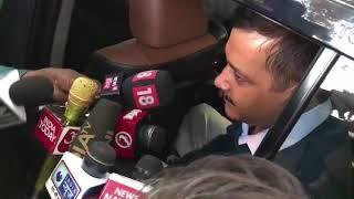 Delhi CM Arvind Kejriwal Briefs Media After Meeting LG on Narela Incident
