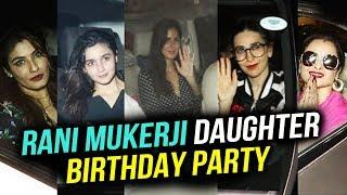 Rani Mukerji Birthday Party Full Video | Kareena Kapoor, Katrina Kaif, Karan Johar, Rekha