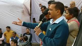 Delhi CM Arvind Kejriwal at Mundka, inaugurated more than 250 projects in unauthorized colonies