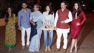 Kareena, Saif Ali Khan, Sharmila Tagore At Soha's The Perils Of Being Moderately Famous Book Launch