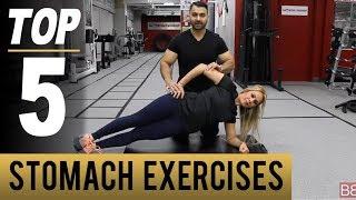 New MOMS STOMACH TONING Fat Loss Workout! TOP 5 (Hindi / Punjabi)