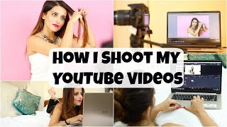 How To: Shoot Good Quality Videos For YouTube Using A Laptop/ How I Film My Hairstyling Videos