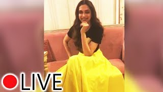 LIVE Chat With Deepika Padukone | Favourite Food, Book Lifestyles