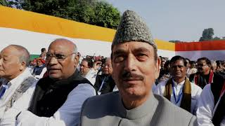 I am sure Congress President Rahul Gandhi will meet all our expectations: Ghulam Nabi Azad